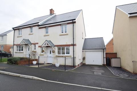3 bedroom semi-detached house for sale - 49 Ffordd Y Draen, Parc Derwen, Coity, Bridgend, Bridgend County Borough, CF35 6BF