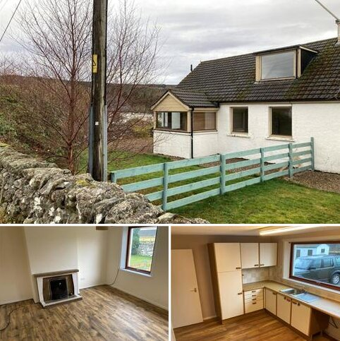 3 bedroom semi-detached house to rent - North Cottage, Invercassley Estate, Rosehall, Lairg, IV27