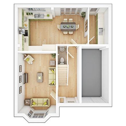 Floorplan 1 of 2: Haddenham gf