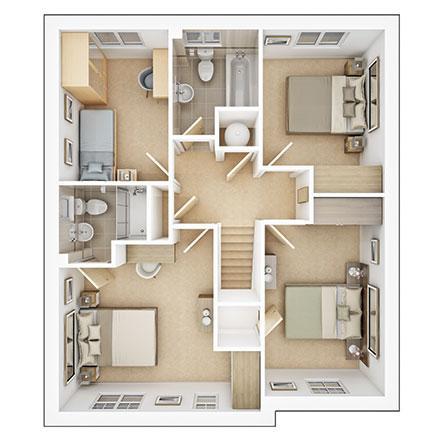 Floorplan 2 of 2: Bradenham ff