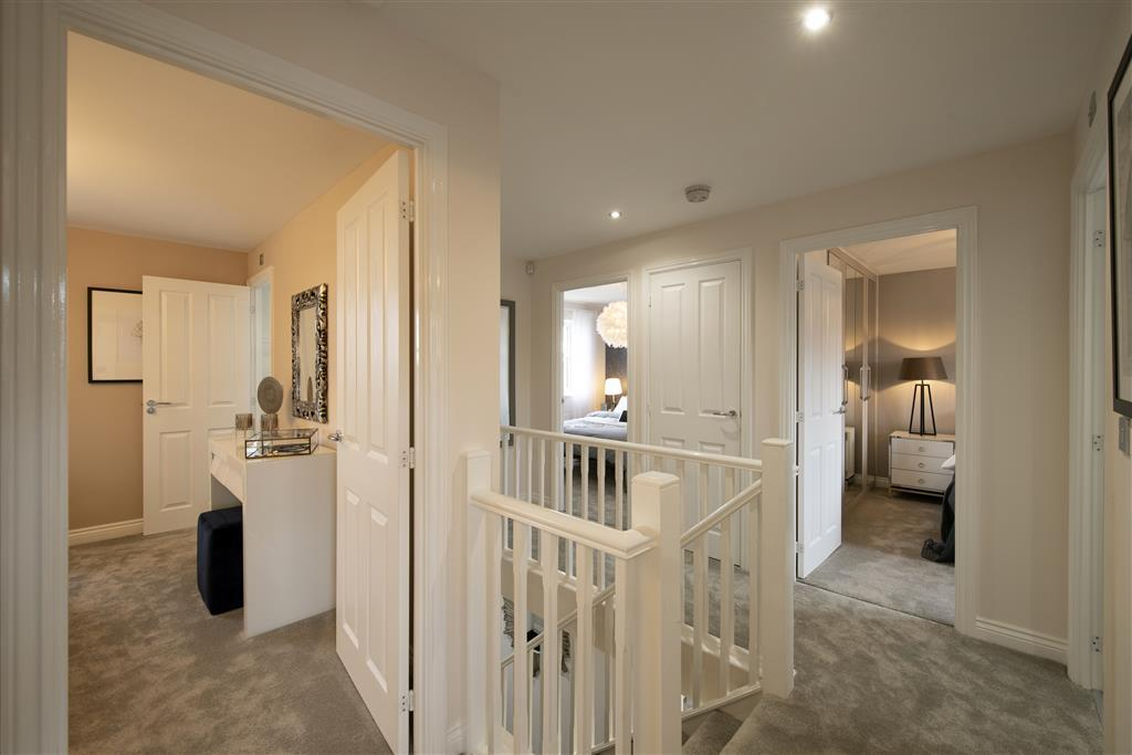 Image of the Whitford show home at Willowburn Park, Alnwick