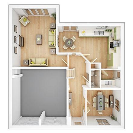 Floorplan 1 of 2: Lavenham gf