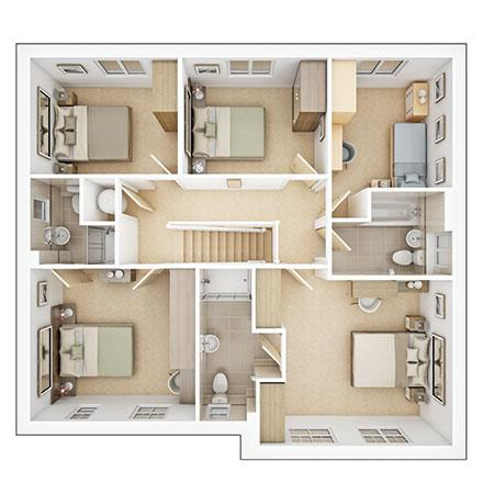 Floorplan 2 of 2: Lavenham ff