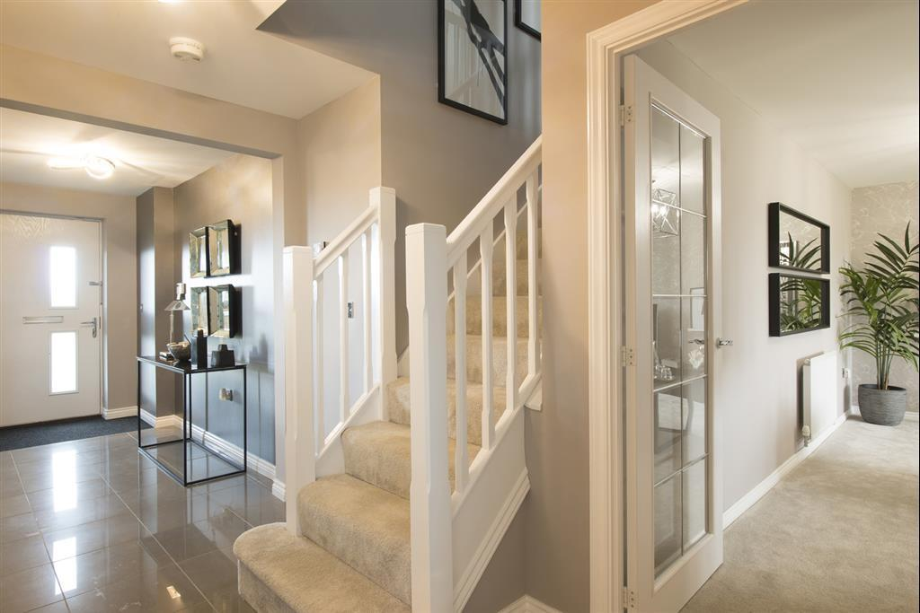 Actual Lavenham show home at West Heath, Newcastle Great Park
