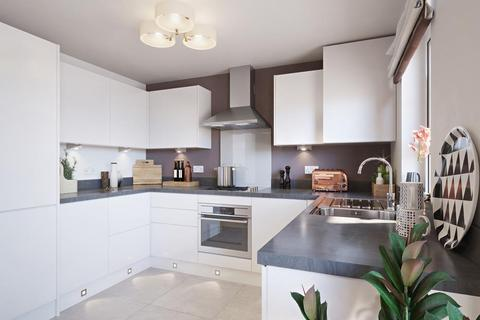 Barratt Homes - Berry Acres - Plot 67, The Hanbury  at Coverdale Phase 2, Luscombe Road TQ3