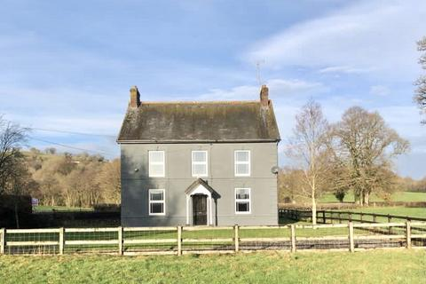 4 bedroom property with land for sale - Llandovery, Carmarthenshire.