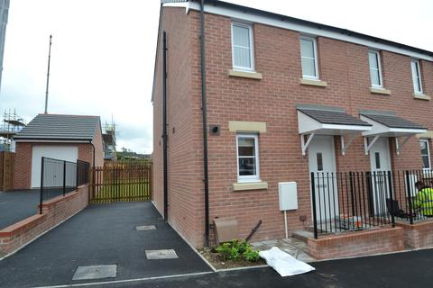 2 bedroom semi-detached house for sale - 105 Maes Brynach, Brynmenyn, Bridgend, Bridgend County Borough,CF32 9PT