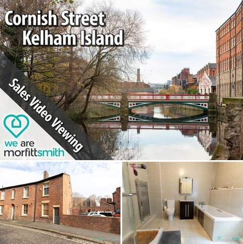 2 bedroom end of terrace house for sale - Cornish Place, Cornish Street, Kelham Island, S6 3AF - Essential Viewing