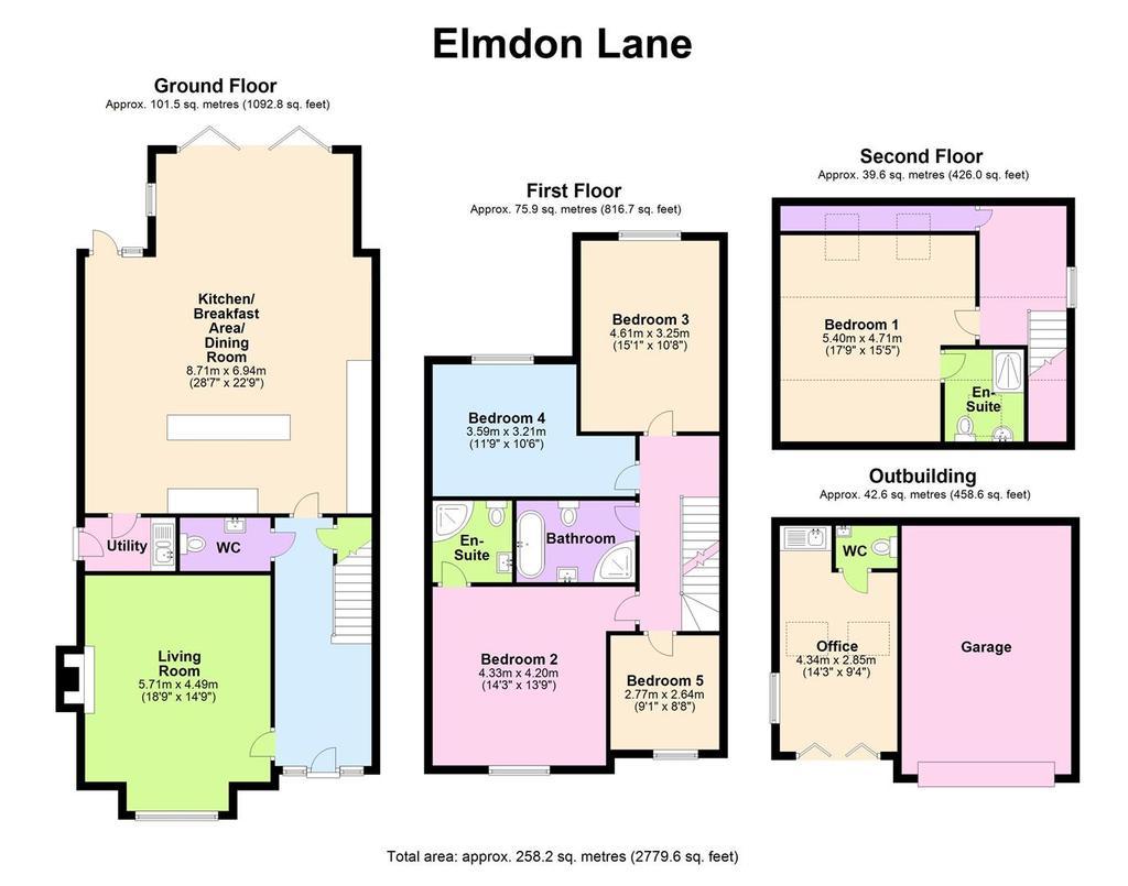 Floorplan: 139 Elmdon Lane   Floorplan.JPG
