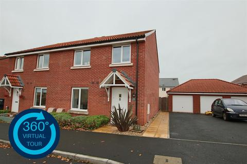 4 bedroom semi-detached house for sale - Shareford Way, Cranbrook, Exeter