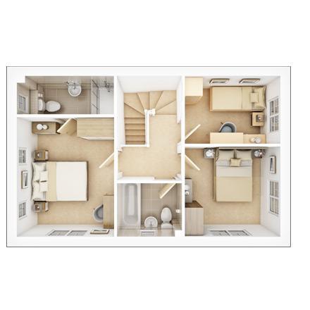 Floorplan 2 of 2: Ash  FF  floorplan