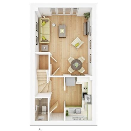 Floorplan 1 of 2: Canford gf