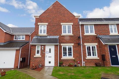 3 bedroom terraced house for sale - Arkless Grove, The Grove, Consett, Durham, DH8 8AB