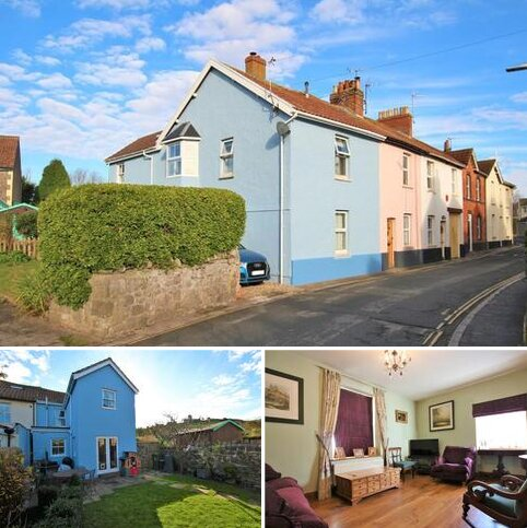 3 bedroom end of terrace house for sale - Old Church Road, Uphill