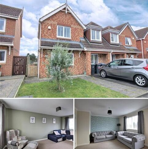 4 bedroom semi-detached house for sale - The Chequers, Consett, DH8
