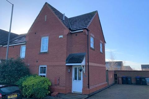 3 bedroom end of terrace house to rent - Brigadier Close, Wootton, Northampton, NN4