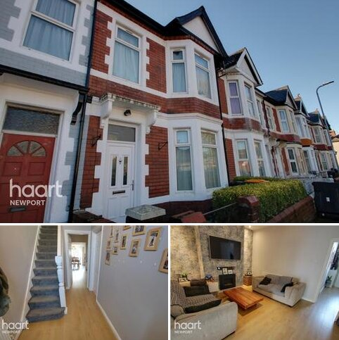 3 bedroom terraced house for sale - Rugby Road, Newport