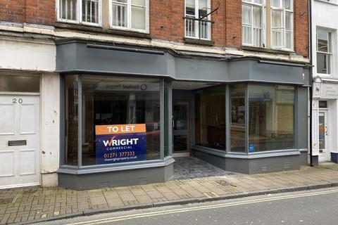Retail property (high street) to rent - Cross Street, Barnstaple EX31