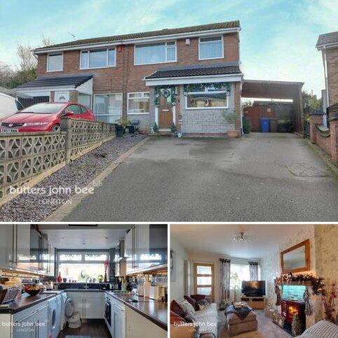 3 bedroom semi-detached house for sale - Shardlow Close, STOKE-ON-TRENT