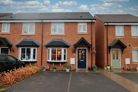 3 bedroom semi-detached house for sale - Overton Close, Eccleshall
