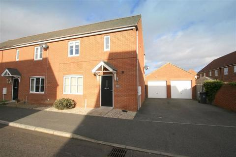 3 bedroom end of terrace house for sale - Cloverfield, West Allotment, NE27
