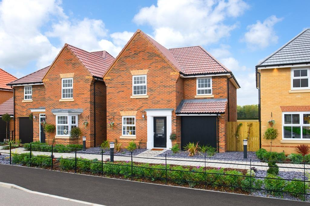 External of The Abbeydale Show home at Hesslewood Park