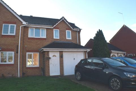 3 bedroom semi-detached house to rent - Harcourt Way, Hunsbury Hill, Northampton, NN4 8JR
