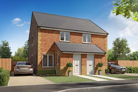 2 bedroom semi-detached house for sale - Plot 013, Kerry at Springfield Meadows - Coming Soon, Woodhouse Lane, Bolsover, Chesterfield S44