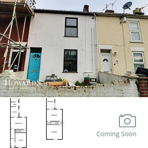 3 bedroom terraced house for sale - Exmouth Road, Great Yarmouth
