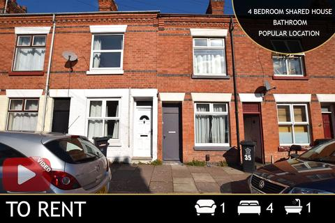 1 bedroom terraced house to rent - Tewkesbury Street, Leicester, LE3
