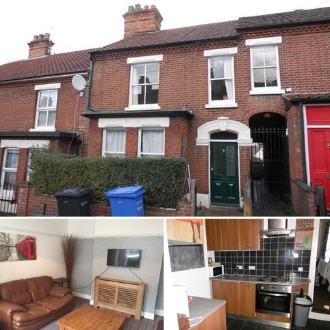 4 bedroom terraced house to rent - Dover Street, Norwich