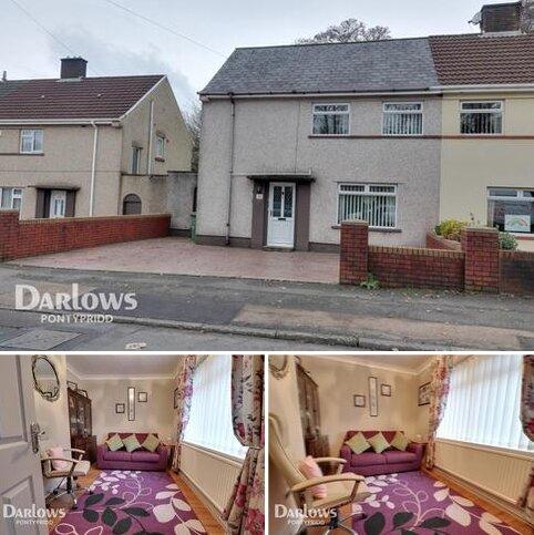 3 bedroom semi-detached house for sale - Dynea Road, Pontypridd