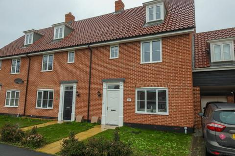 3 bedroom end of terrace house - Poppy Way, Leiston