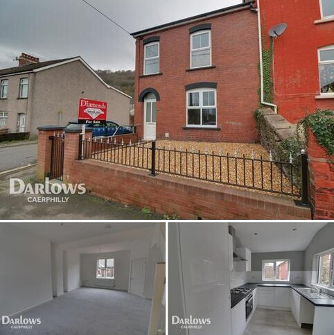 3 bedroom end of terrace house for sale - School Street, Caerphilly