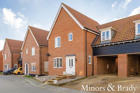 3 bedroom link detached house for sale - Brandon Close, Swanton Morley