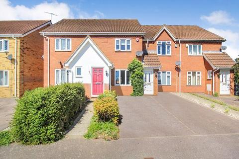 2 bedroom terraced house to rent - Wiseman Close, Bushmead, Luton