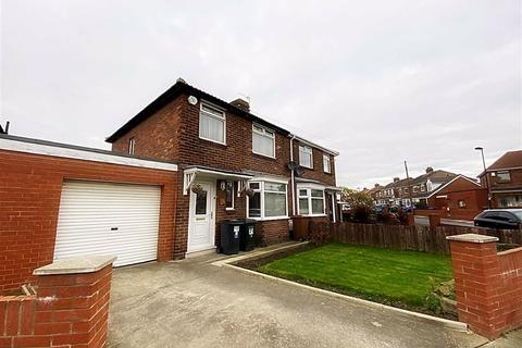 2 bedroom semi-detached house for sale - Tynedale Avenue, Kings Estate, Wallsend, NE28
