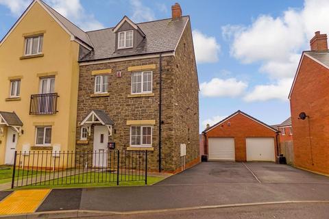 4 bedroom end of terrace house for sale - Llys Y Ddraenen Wen, Coity, Bridgend. CF35 6HP