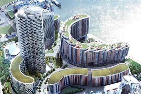 2 bedroom flat to rent - Fairmont Avenue, Canary Wharf, London, E14 9JA