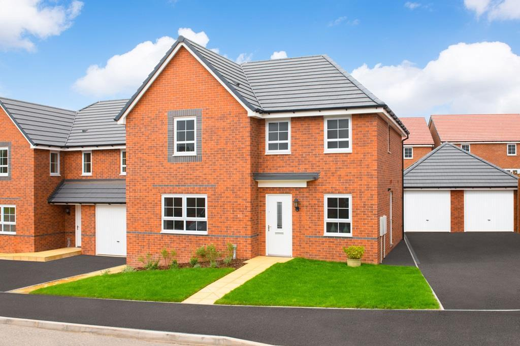 Outside view of our 4 bed detached Radleigh home