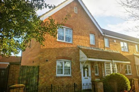 3 bedroom end of terrace house for sale - Rothbury Drive, Ashington NE63