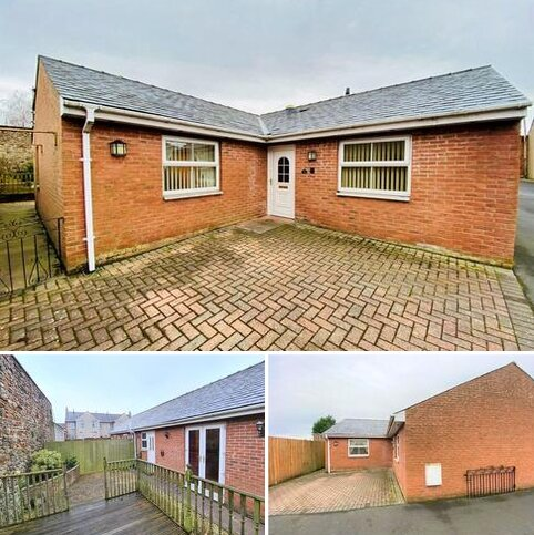 2 bedroom semi-detached bungalow for sale - 1 Netherby Court, Longtown, CA6 5SA