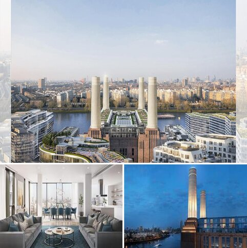 1 bedroom flat for sale - Battersea Power Station, 188 Kirtling Street, Nine Elms, London, SW8 5BN
