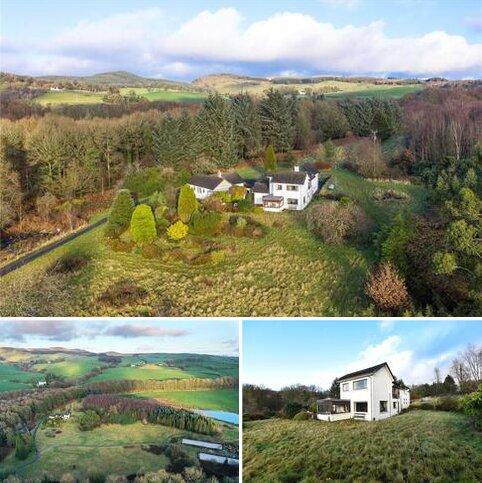 3 bedroom detached house for sale - Dalavan House & Cottage, Bush Moss, Gatehouse of Fleet, Castle Douglas, DG7