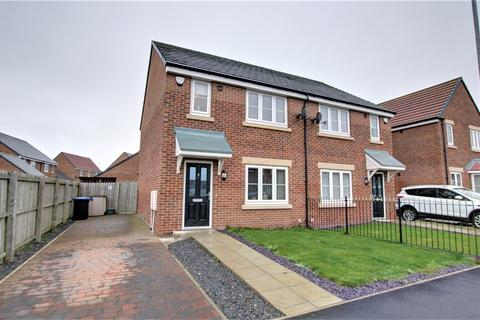 3 bedroom semi-detached house for sale - Queen Elizabeth Drive, Consett, DH8