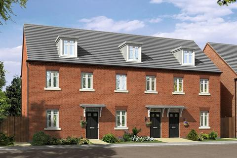 3 bedroom terraced house - Plot 120, NUGENT at The Village at Wedgwood Park, Wedgwood Drive, Barlaston, STOKE-ON-TRENT ST12
