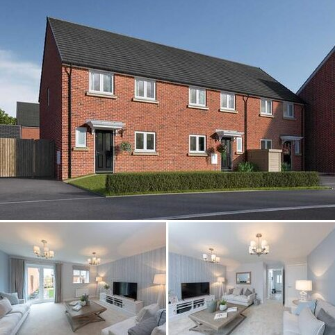 3 bedroom semi-detached house for sale - Plot 34, The Eveleigh at Riverside Mills, Off Roecliffe Lane, Boroughbridge, North Yorkshire YO51