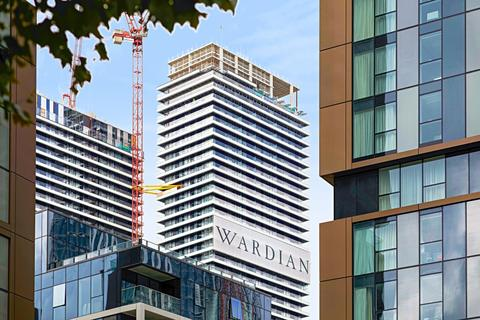 1 bedroom apartment for sale - Wardian Marsh Wall E14