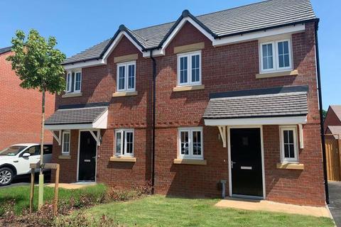 3 bedroom semi-detached house for sale - Plot 66, Beeley at Willow Grange, Marston Lane, Marston ST16
