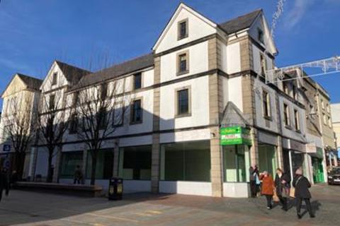 Shop for sale - 126 & 126A High Street, Merthyr Tydfil, Mid Glamorgan